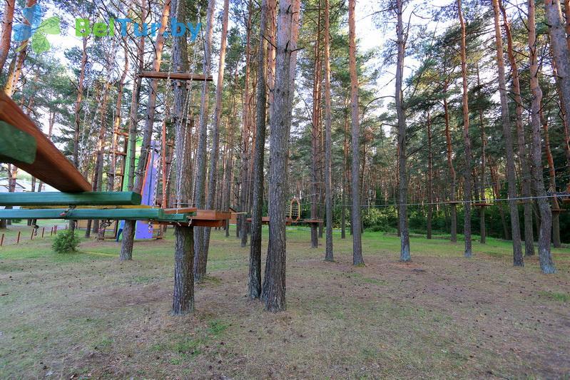 Отдых в Белоруссии Беларуси - туристический комплекс Браславские озера - Веревочный городок