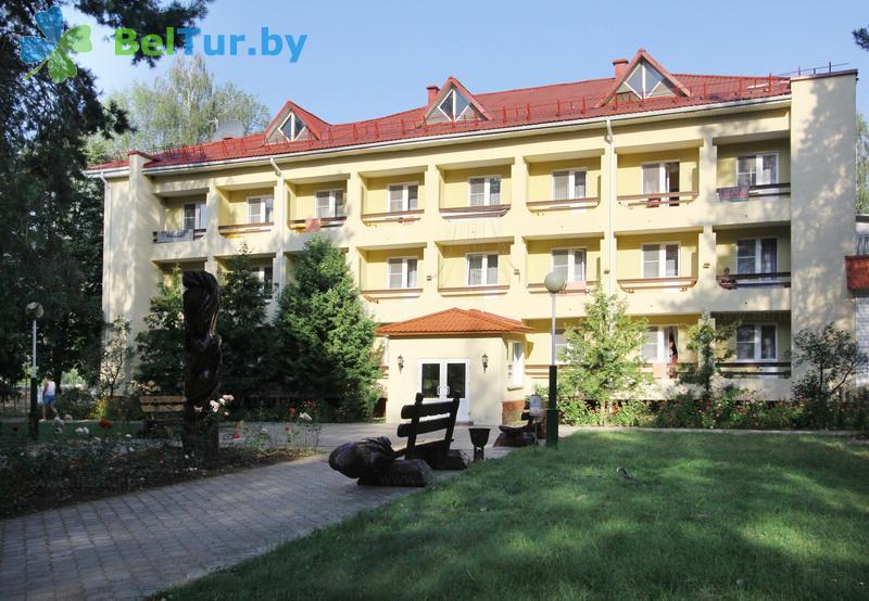 Отдых в Белоруссии Беларуси - база отдыха Милоград - жилой корпус