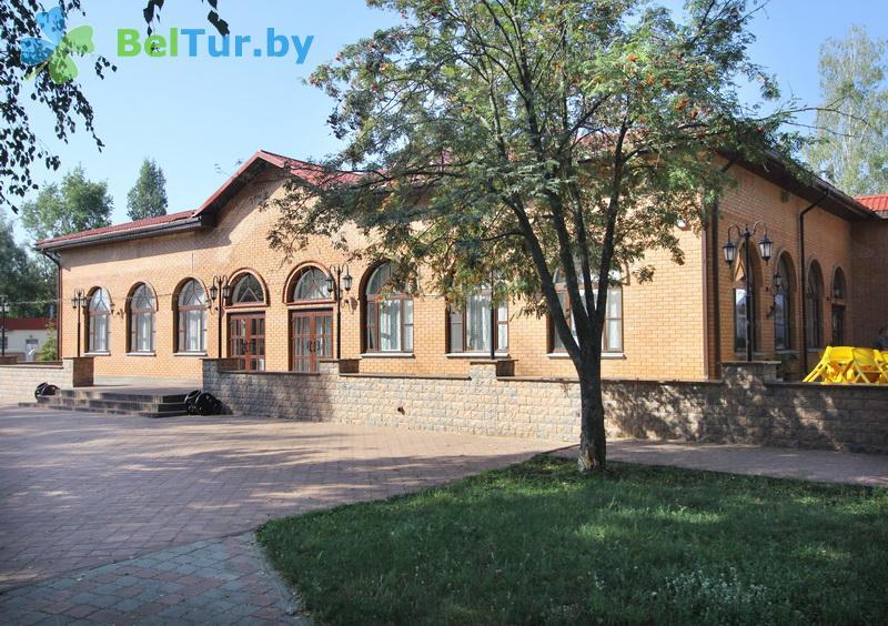 Отдых в Белоруссии Беларуси - база отдыха Милоград - здание столовой