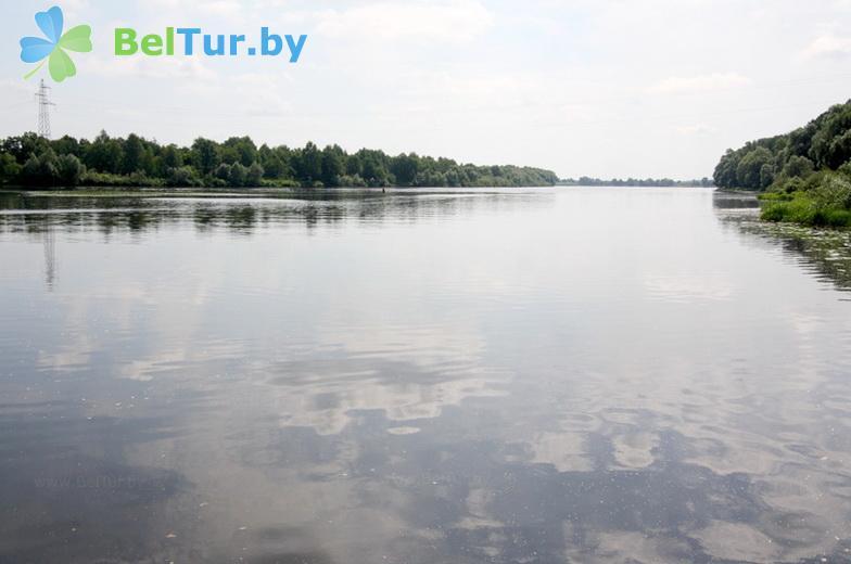 Отдых в Белоруссии Беларуси - база отдыха Милоград - Водоём