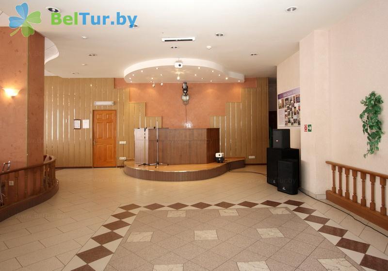 Отдых в Белоруссии Беларуси - база отдыха Милоград - Танцевальный зал