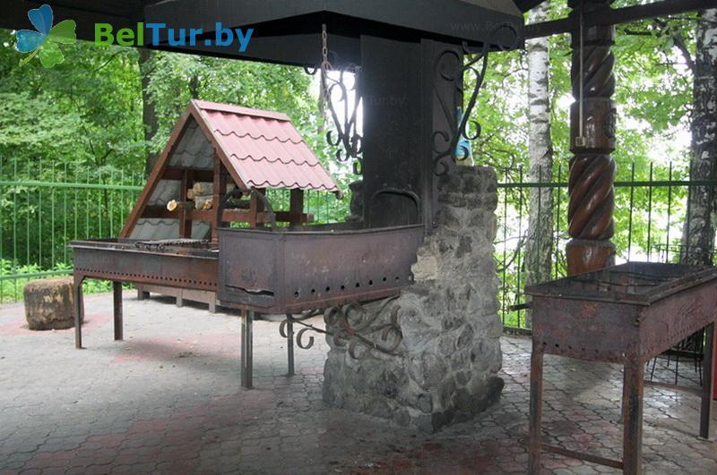 Отдых в Белоруссии Беларуси - база отдыха Милоград - Площадка для шашлыков