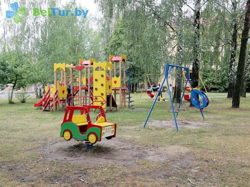 Отдых в Белоруссии Беларуси - база отдыха Милоград - Детская площадка