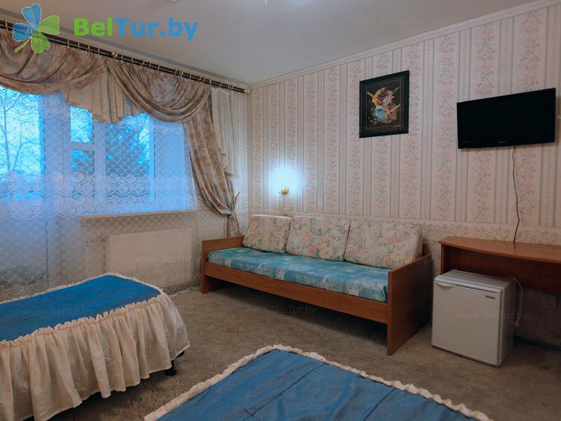 Отдых в Белоруссии Беларуси - база отдыха Милоград - трехместный однокомнатный (жилой корпус)