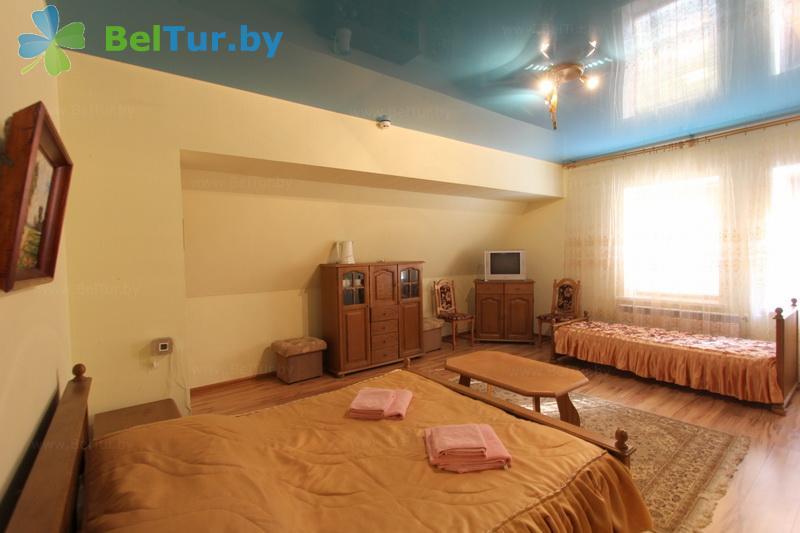 Отдых в Белоруссии Беларуси - база отдыха Без проблем - трехместный однокомнатный / с 2-спальной кроватью (корпус №3)