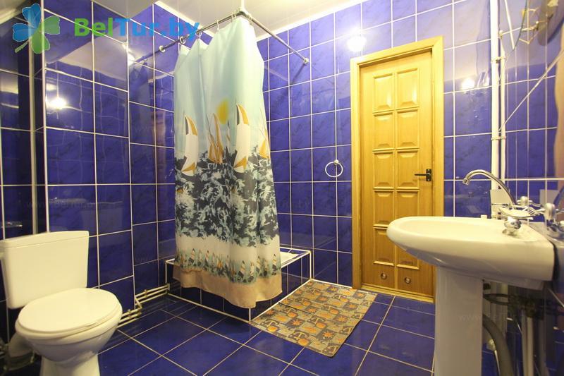 Отдых в Белоруссии Беларуси - база отдыха Без проблем - двухместный однокомнатный/ с 2-спальной кроватью (корпус №3)