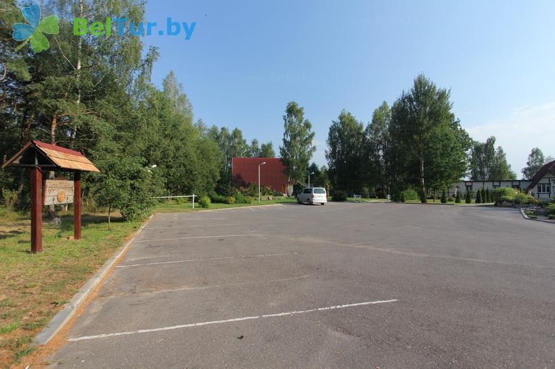 Отдых в Белоруссии Беларуси - база отдыха Без проблем - Парковка