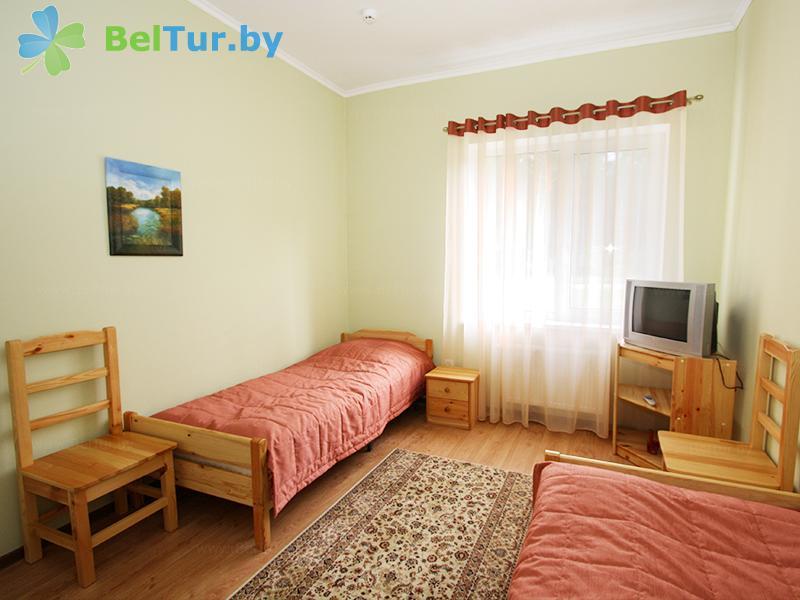 Отдых в Белоруссии Беларуси - база отдыха Без проблем - двухместный однокомнатный (корпус №1)