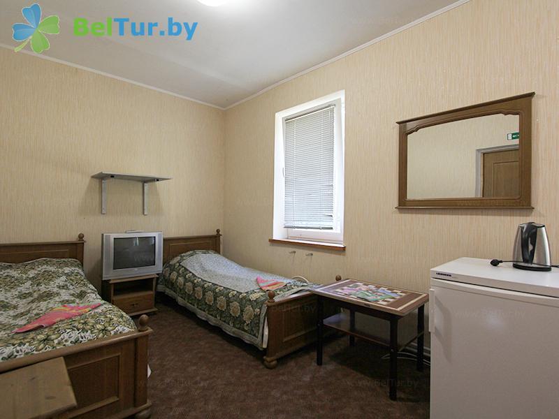 Отдых в Белоруссии Беларуси - база отдыха Без проблем - четырехместный однокомнатный (корпус №2)