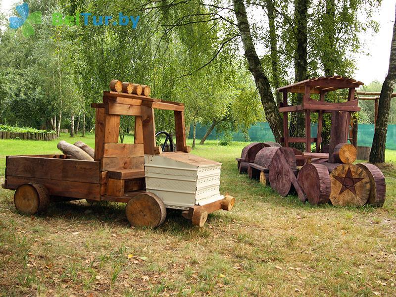 Отдых в Белоруссии Беларуси - база отдыха Без проблем - Детская площадка