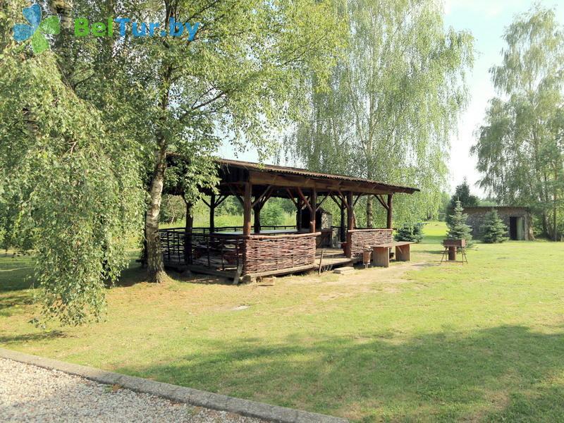 Отдых в Белоруссии Беларуси - база отдыха Без проблем - Площадка для шашлыков