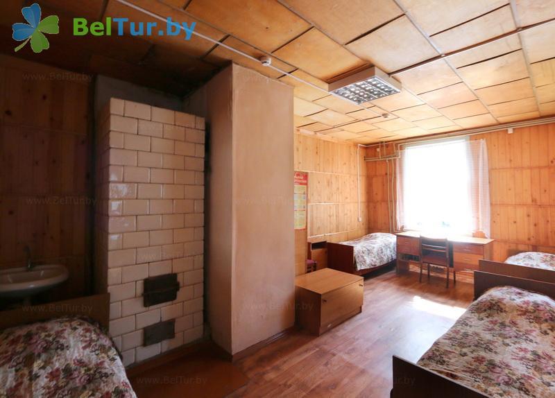 Отдых в Белоруссии Беларуси - база отдыха Озёры - четырехместный однокомнатный (спальный корпус №1)