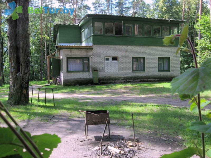 Отдых в Белоруссии Беларуси - база отдыха Озёры - Площадка для шашлыков