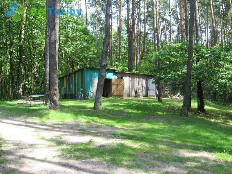 Отдых в Белоруссии Беларуси - база отдыха Озёры - Парковка