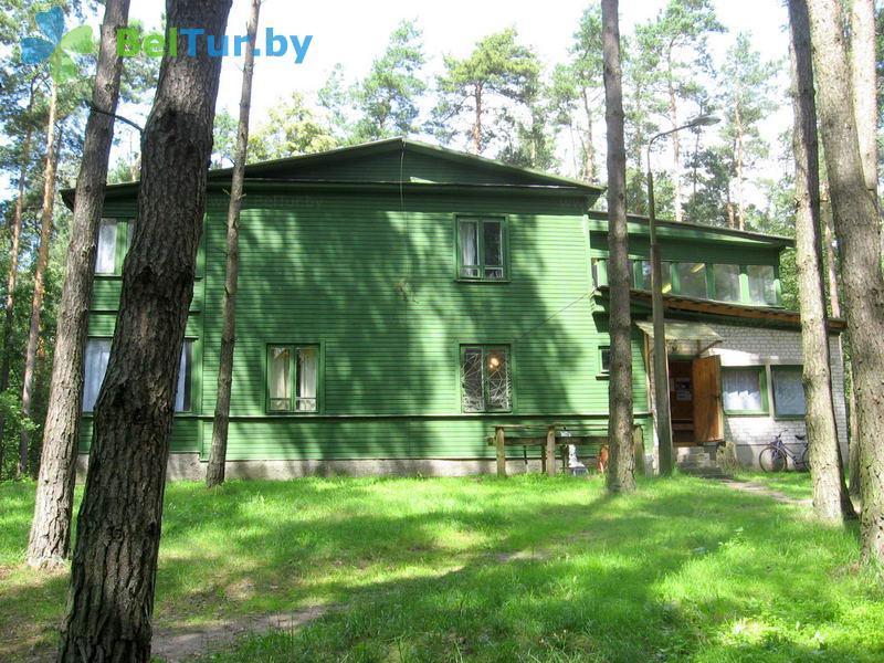 Отдых в Белоруссии Беларуси - база отдыха Озёры - спальный корпус №1