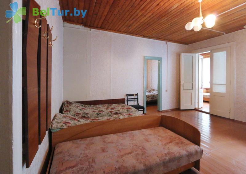 Отдых в Белоруссии Беларуси - база отдыха Озёры - пятиместный однокомнатный (спальный корпус №1)