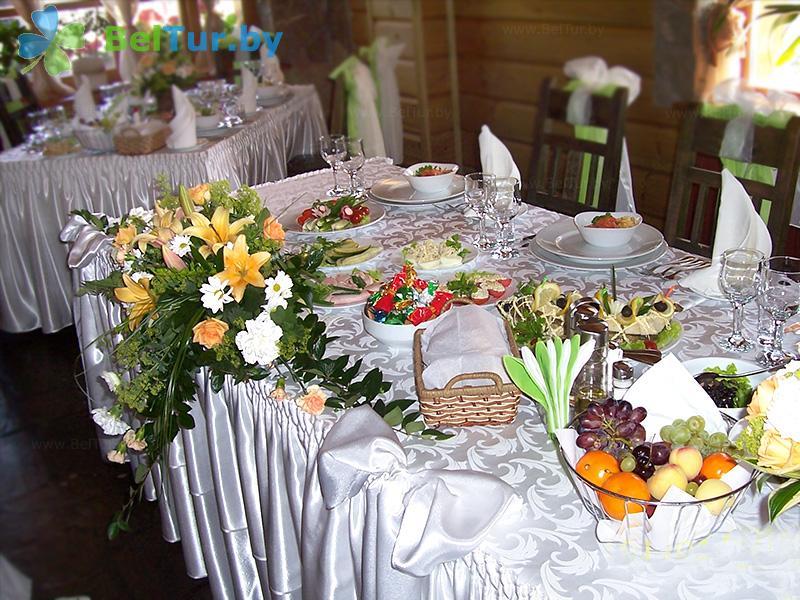 Отдых в Белоруссии Беларуси - туристический комплекс Рыньковка - Банкетный зал