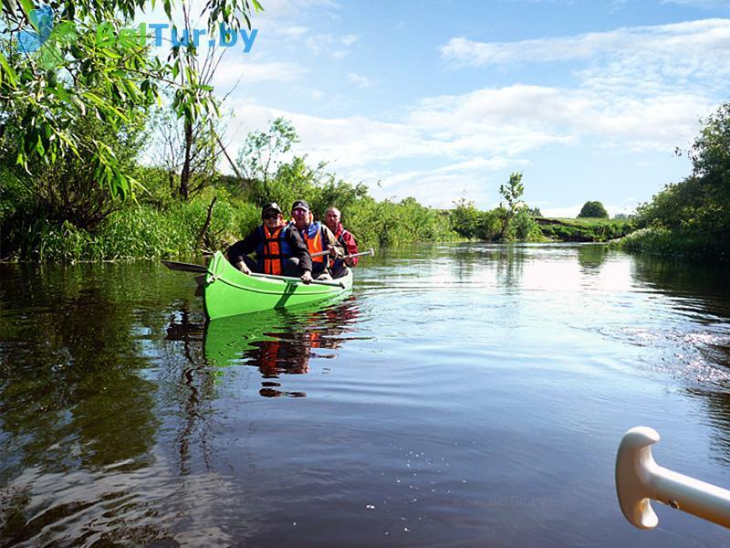 Отдых в Белоруссии Беларуси - туристический комплекс Рыньковка - Прокат лодок