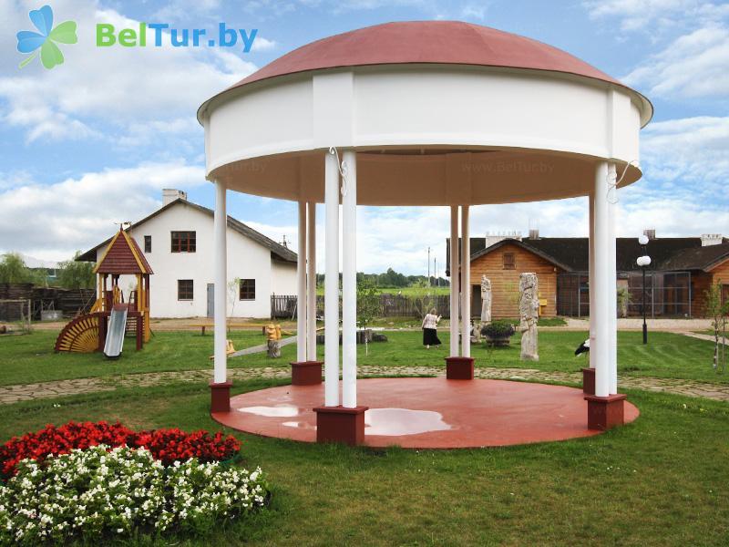 Отдых в Белоруссии Беларуси - туристический комплекс Рыньковка - Беседка