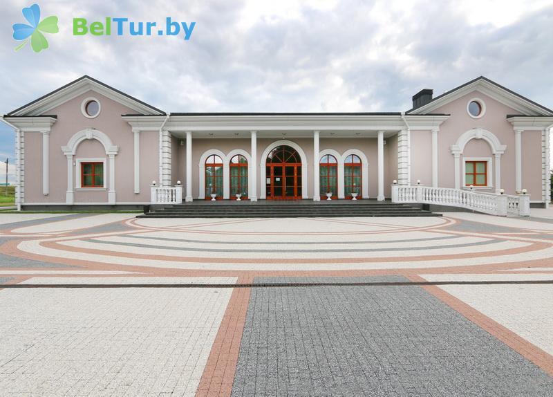 Отдых в Белоруссии Беларуси - туристический комплекс Рыньковка - ресторан Рыньковский Палац