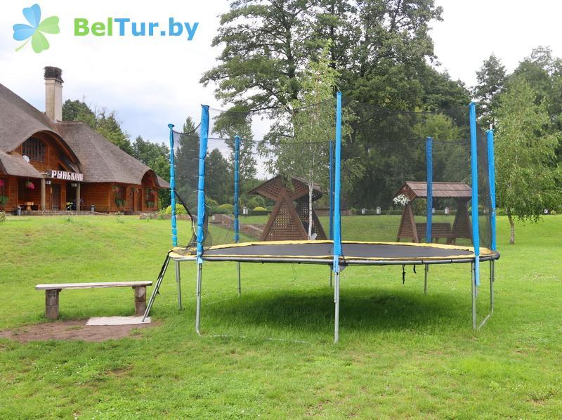 Отдых в Белоруссии Беларуси - туристический комплекс Рыньковка - Детская площадка