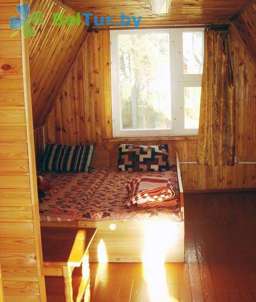 Отдых в Белоруссии Беларуси - база отдыха Вяча - двухместный однокомнатный (летние домики)