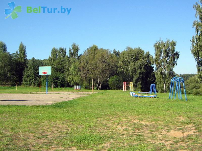 Отдых в Белоруссии Беларуси - база отдыха Вяча - Спортплощадка