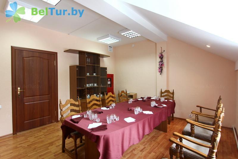 Отдых в Белоруссии Беларуси - база отдыха Дружба - Банкетный зал