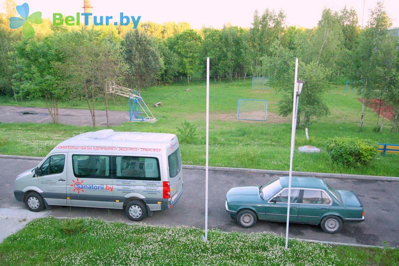 Отдых в Белоруссии Беларуси - база отдыха Дружба - Парковка
