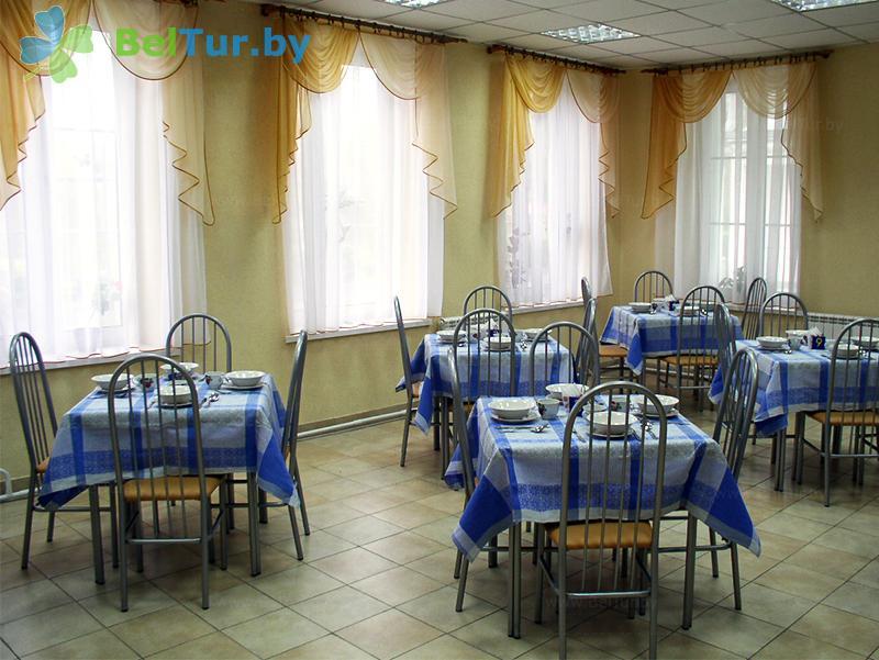 Отдых в Белоруссии Беларуси - база отдыха Дружба - Столовая