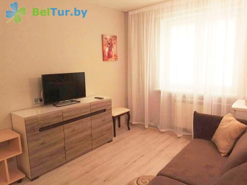 Отдых в Белоруссии Беларуси - база отдыха Дружба - двухместный двухкомнатный люкс (спальный корпус №1)