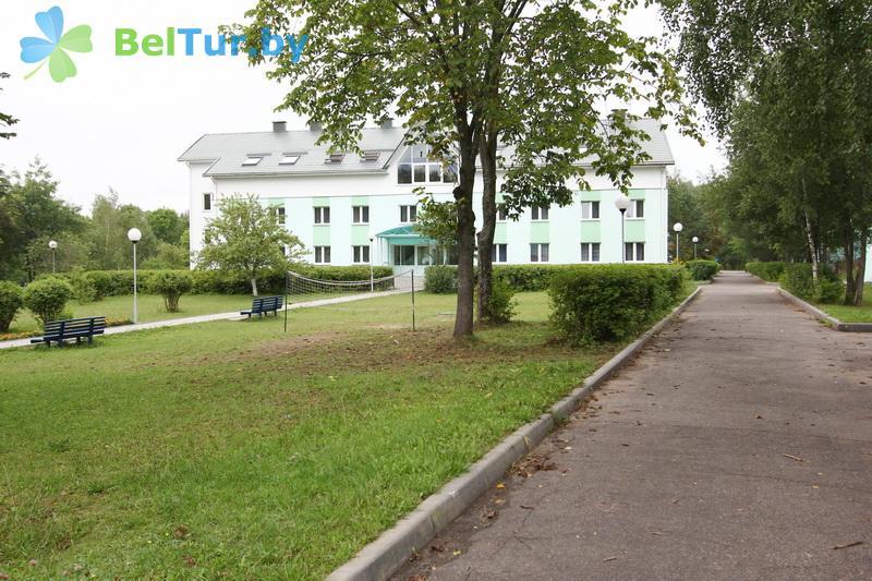 Отдых в Белоруссии Беларуси - база отдыха Дружба - Территория и природа
