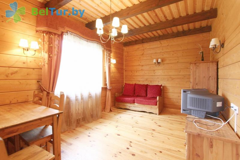 Rest in Belarus - recreation center Druzhba - two-room double suite (living building №2)