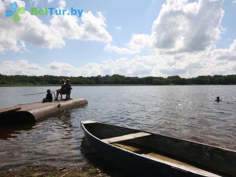 Отдых в Белоруссии Беларуси - база отдыха Невидо - Прокат лодок