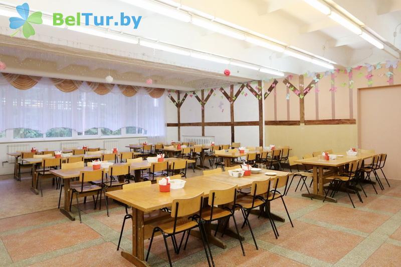 Rest in Belarus - recreation center Galaktika - Meals