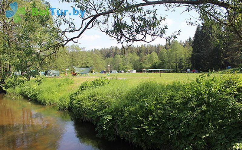 Отдых в Белоруссии Беларуси - база отдыха Галактика - Водоём