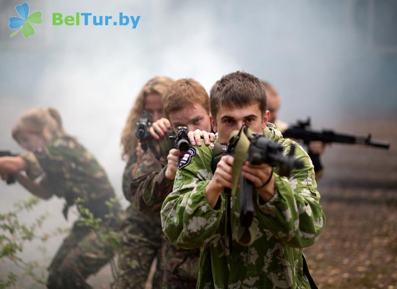 Отдых в Белоруссии Беларуси - база отдыха Галактика - Лазертаг