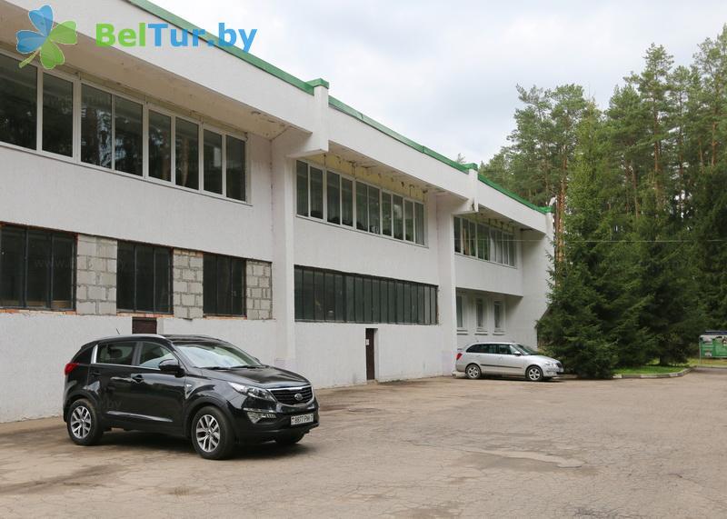 Отдых в Белоруссии Беларуси - база отдыха Галактика - Парковка