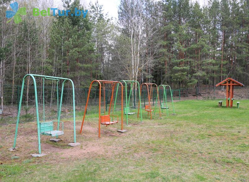Отдых в Белоруссии Беларуси - база отдыха Галактика - Детская площадка