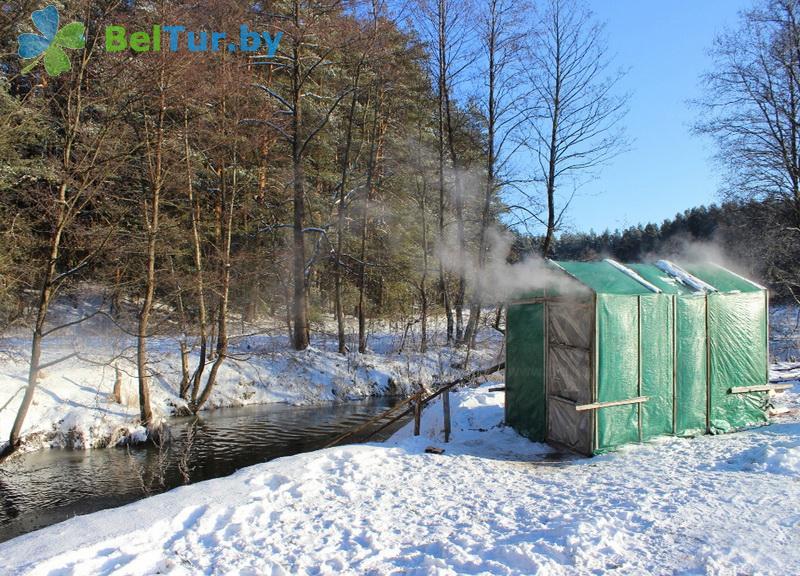 Отдых в Белоруссии Беларуси - база отдыха Галактика - Баня русская