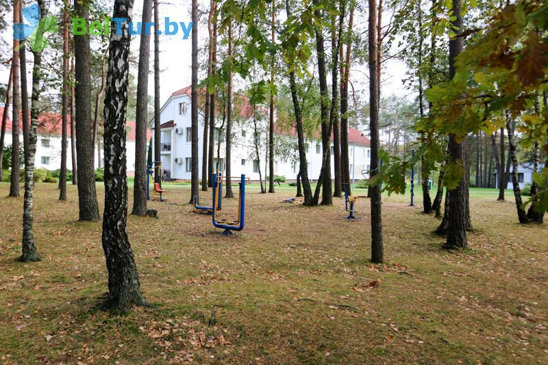 Отдых в Белоруссии Беларуси - оздоровительный центр Алеся - Уличные тренажеры