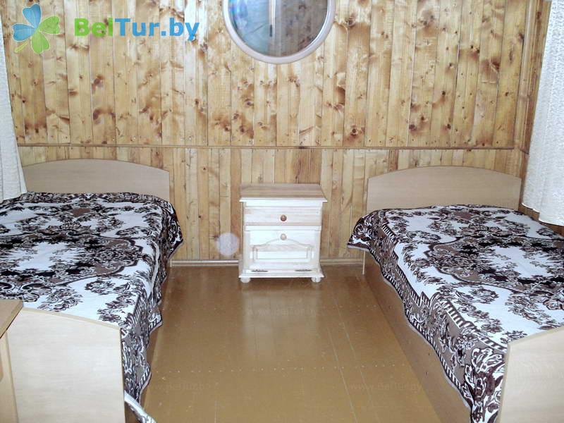 Отдых в Белоруссии Беларуси - оздоровительный центр Алеся - трехместный двухкомнатный (летние домики)