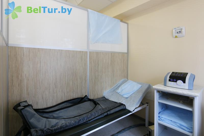 Отдых в Белоруссии Беларуси - оздоровительный центр Алеся - Компрессионная терапия