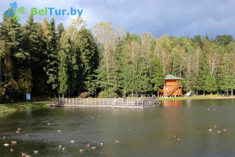Отдых в Белоруссии Беларуси - оздоровительный центр Алеся - Рыбалка