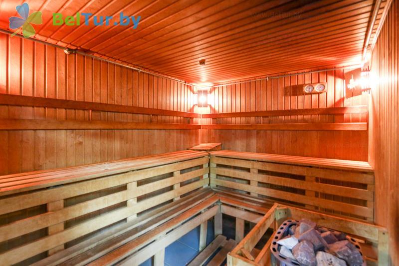 Отдых в Белоруссии Беларуси - оздоровительный центр Алеся - Сауна