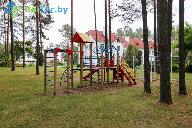 Отдых в Белоруссии Беларуси - оздоровительный центр Алеся - Детская площадка