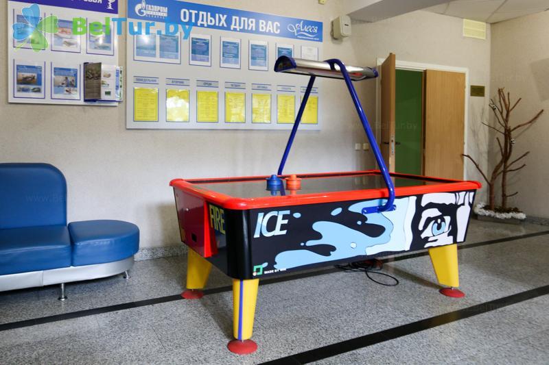 Отдых в Белоруссии Беларуси - оздоровительный центр Алеся - Игровые столы