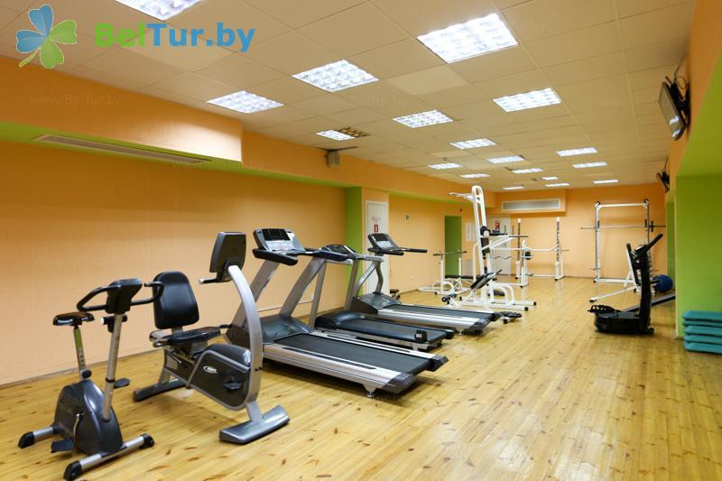 Отдых в Белоруссии Беларуси - оздоровительный центр Алеся - Тренажерный зал