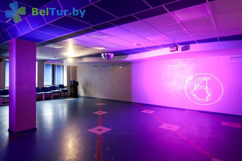 Отдых в Белоруссии Беларуси - оздоровительный центр Алеся - Танцевальный зал