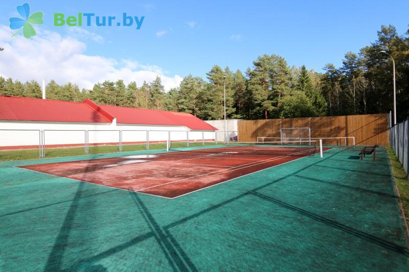 Отдых в Белоруссии Беларуси - оздоровительный центр Алеся - Теннисный корт